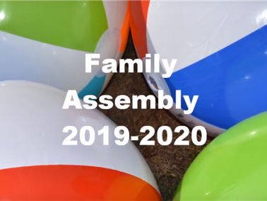 Family Assembly 2019-2020 Headline Photo