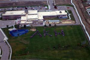 Aerial View of Ann K. Heiman Elementary School