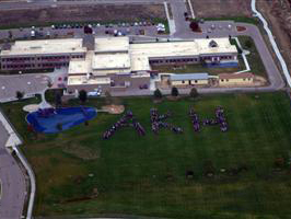Aerial View of Heiman Elementary School