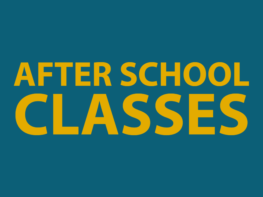 After School Classes Graphic
