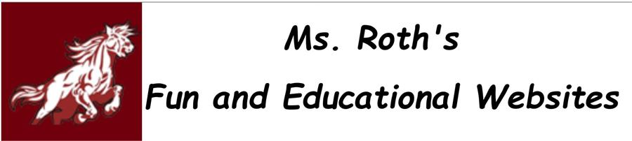 Ms. Roth's Website