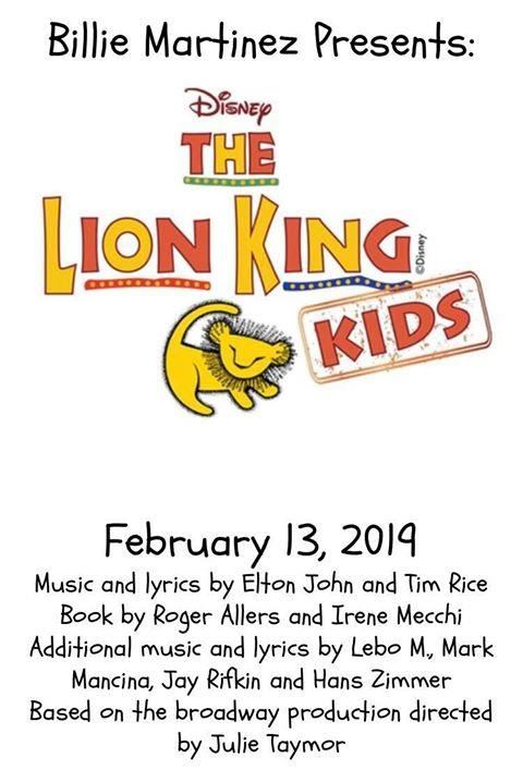 The Lion King Play