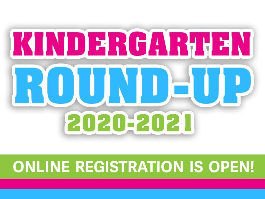 Kindergarten Online Registration is Now Open