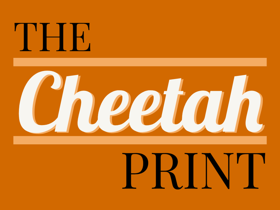 The Cheetah Print Headline Graphic