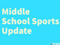 Middle School Sports Update