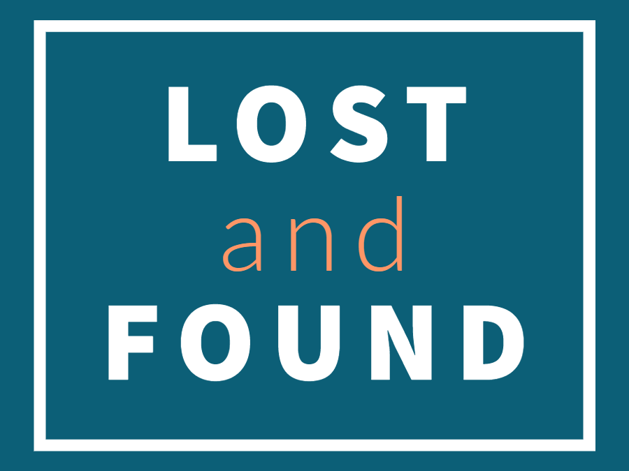 Lost and Found Headline Graphic