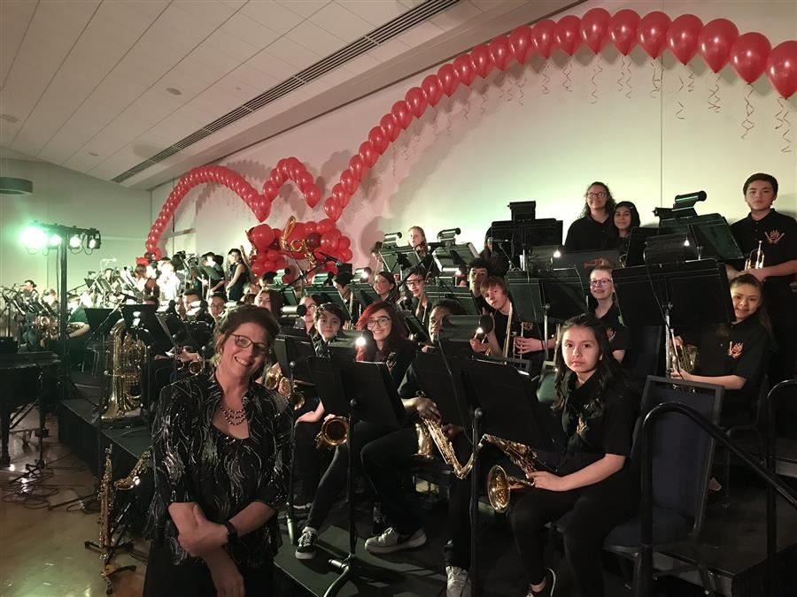 Brentwood Jazz Band at the Big Band Boogie Ball