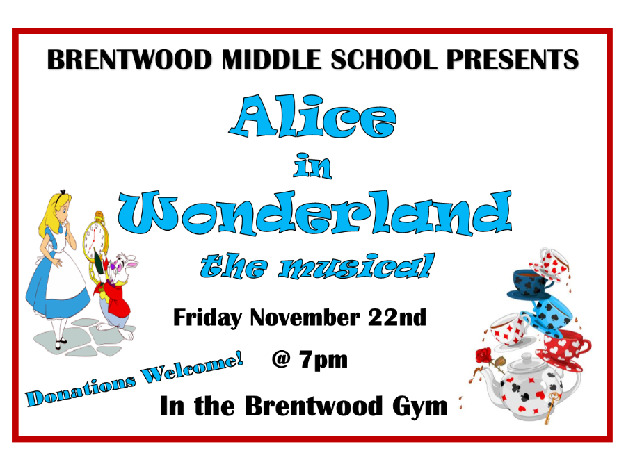 Alice in Wonderland Flyer