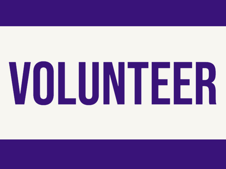 Volunteer Headline Graphic