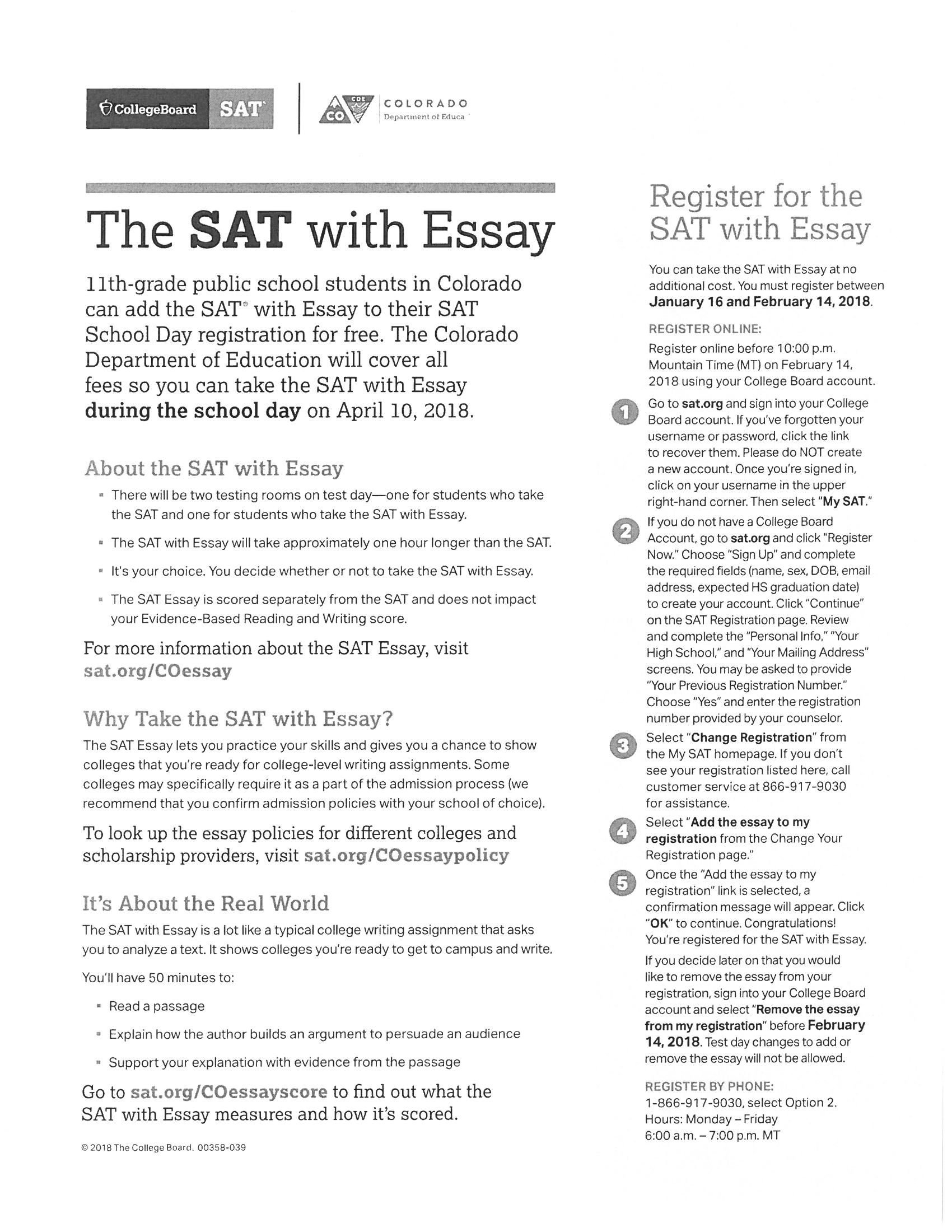 20 essay outstanding sat If you can string together a coherent essay, that's a plus before you  when i  took the actual sat, i got a 99th percentile score so did i  it allows them to  study slowly and consistently, the way the human brain learns best.