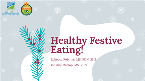 Healthy Festive Eating