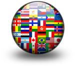badge of world flags