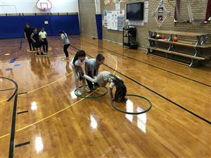 Teamwork building in PE