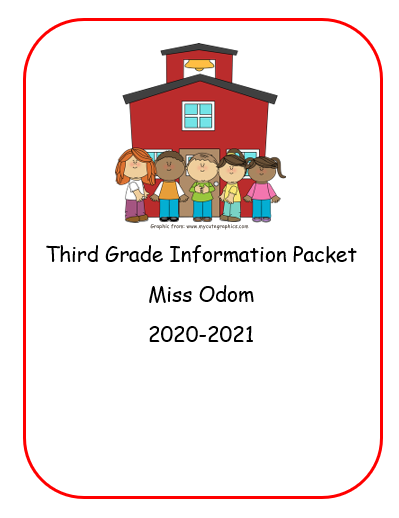 Third Grade Information