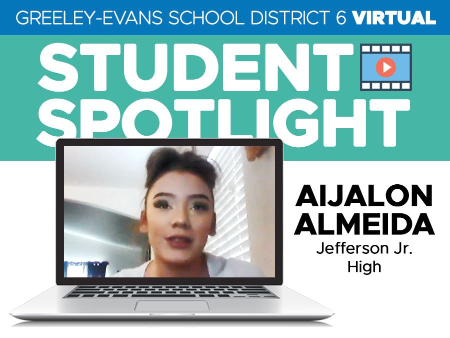 Student Spotlight: Aijalon Almeida, Jefferson Jr. High