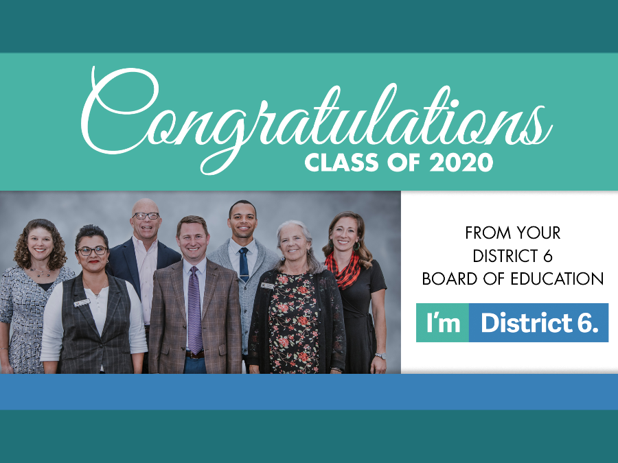 Board of Education Message to the Class of 2020