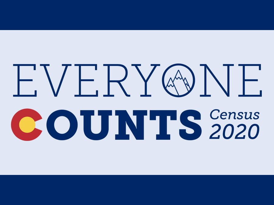 U.S. Census 2020 Website Headline Graphic