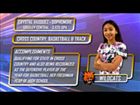 District 6's Student Athlete of the Week-Crystal Vasquez