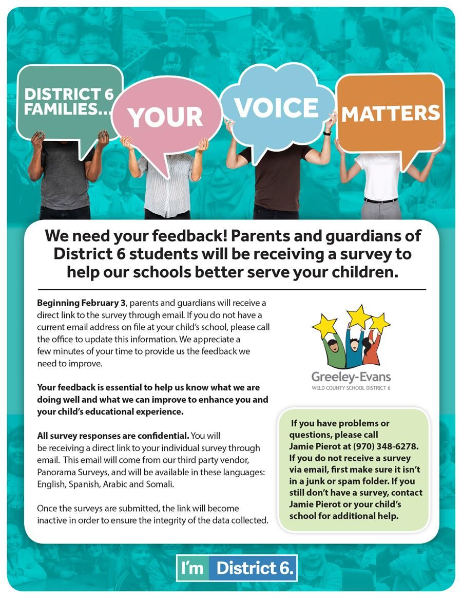 Parent Survey Infographic