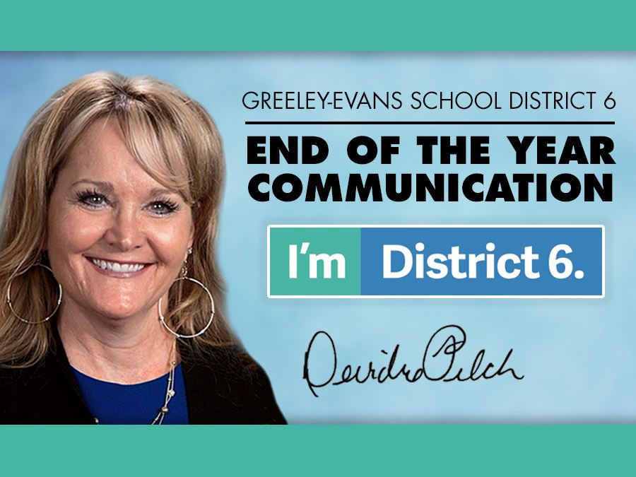 An End of the School Year Message from Dr. Deirdre Pilch, Superintendent of Schools