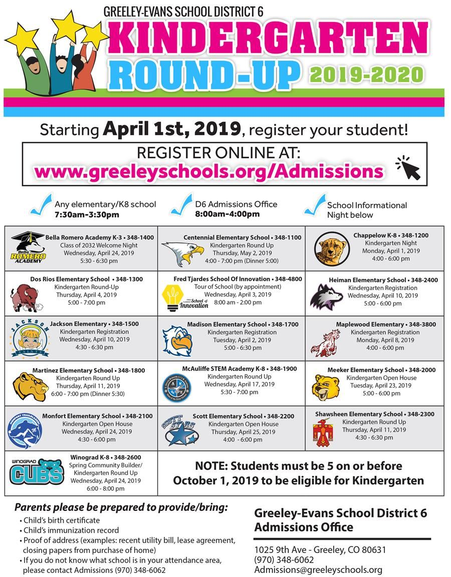 Kinder Roundup Graphic
