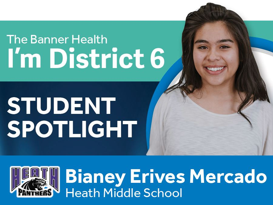 Student Spotlight - Bianey Erives Mercado
