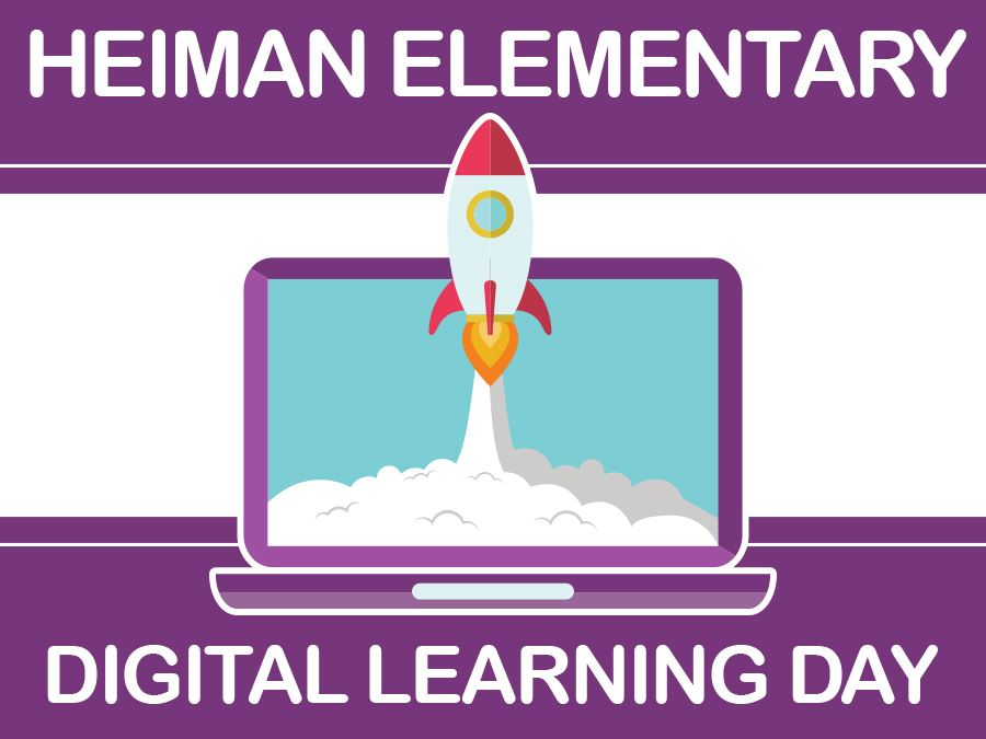 Heiman Digital Learning Day Headline