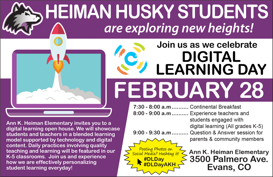 Heiman Husky Digital Learning Day
