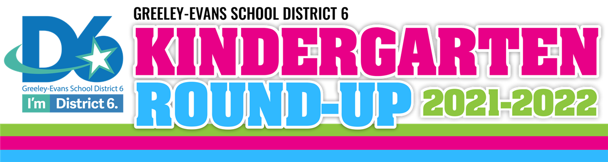 Kindergarten Round-Up 2021-2022 Logo