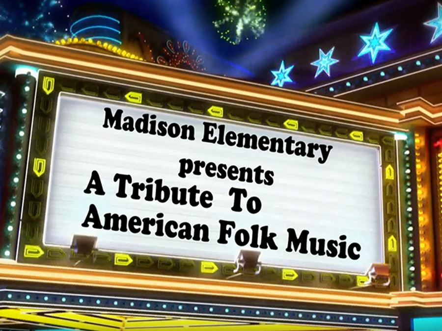 Madison American Folk Music Headline Graphic