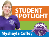 Student Spotlight: Myshayla Coffey