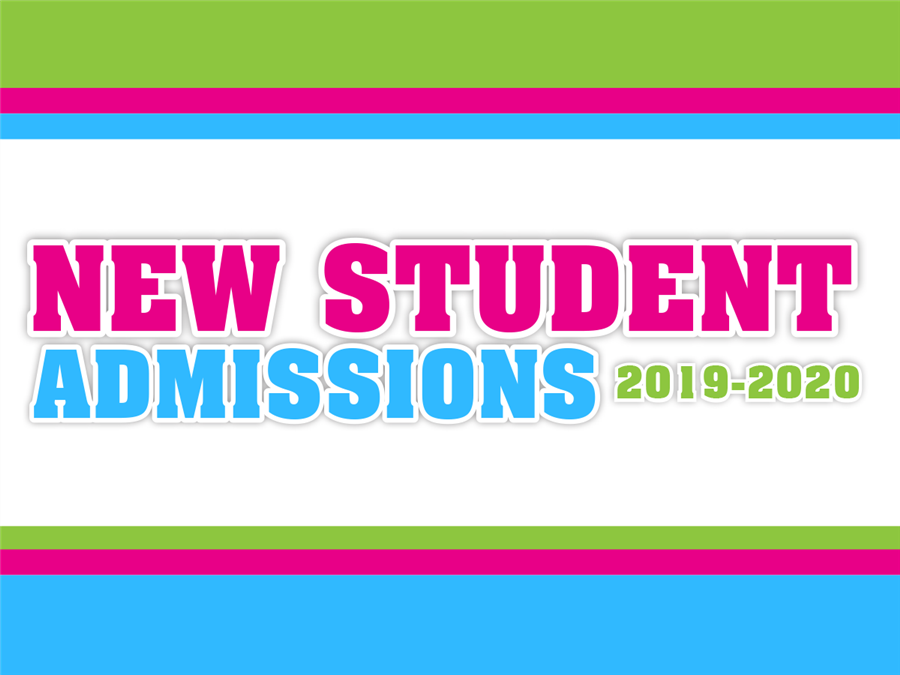 New Student Admissions