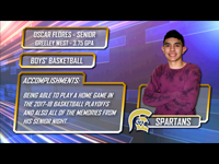 District 6's Student Athlete of the Week-Oscar Flores