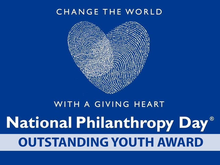 Colorado National Philanthropy Day Youth Award