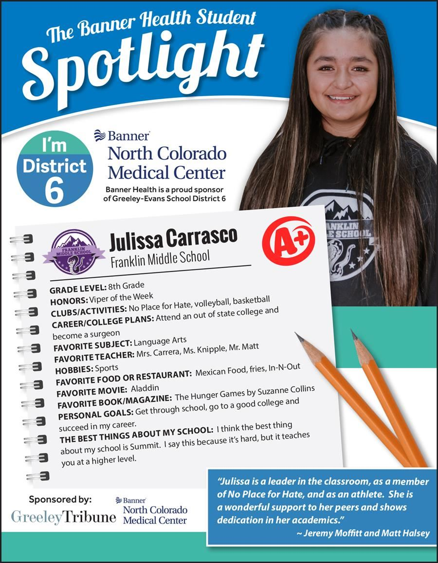 Student Spotlight Julissa Carrasco
