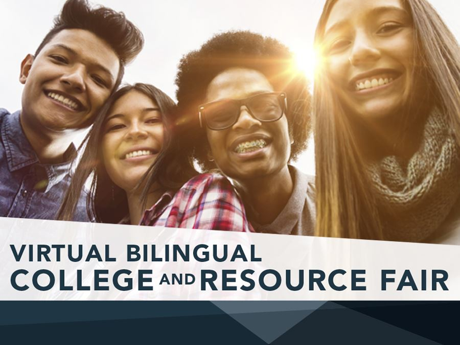 Virtual Bilingual College and Resource Fair Headline