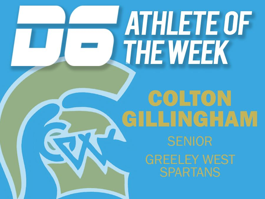 D6 Athlete of the Week - Colton Gillingham