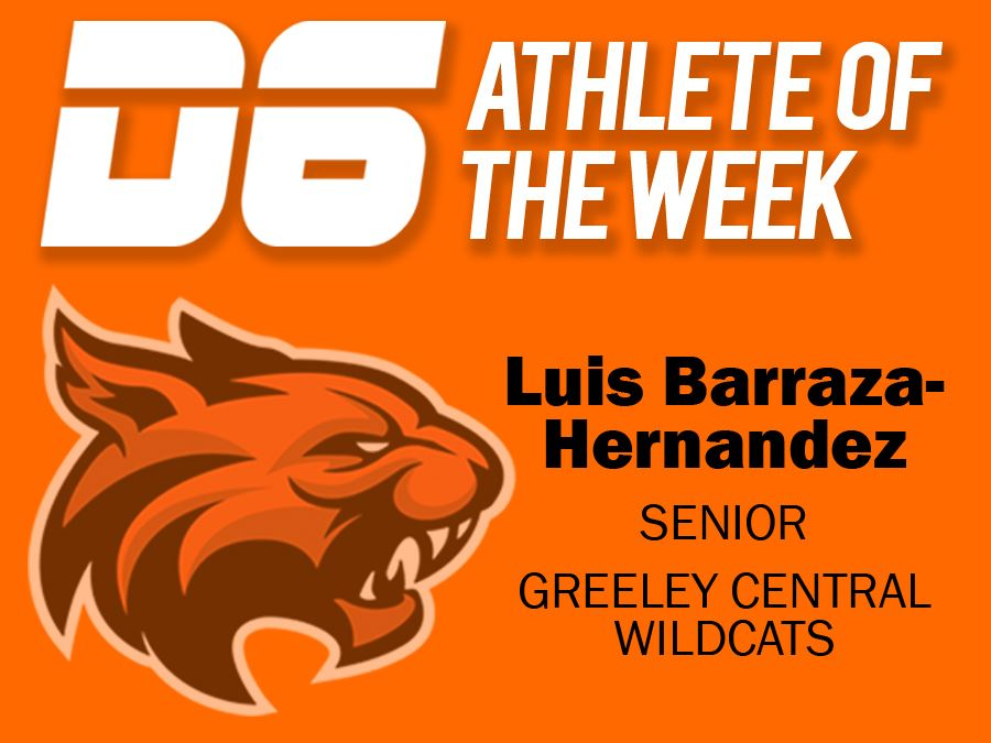 D6 Athlete of the Week February 2021 Luis Barraza-Hernandez