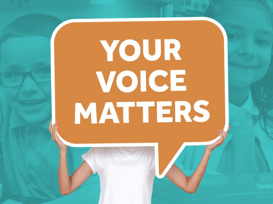 Your Voice Matters Headline Graphic