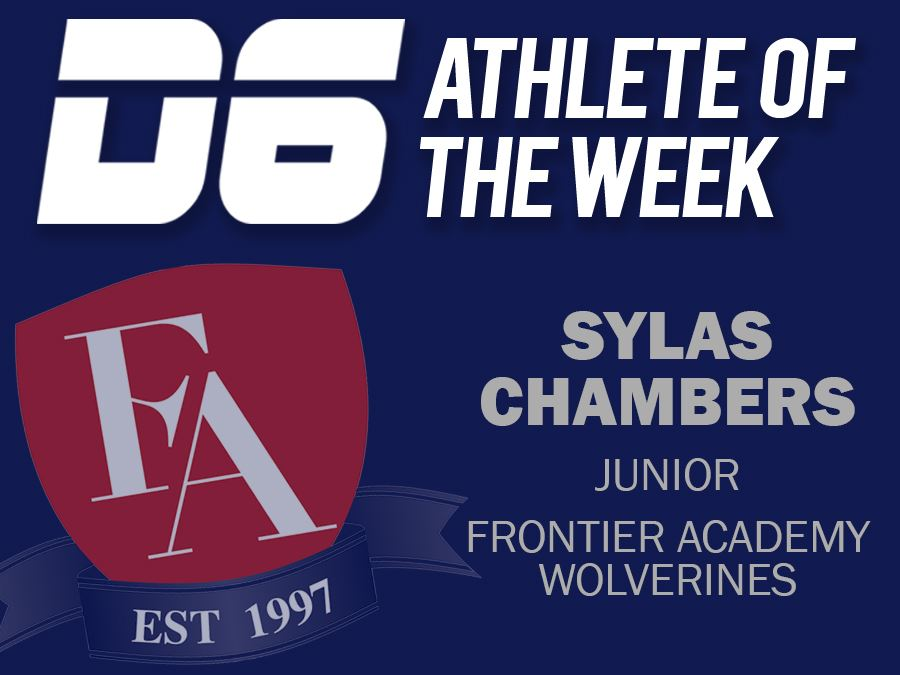 D6 Athlete of the Week Sylas Chambers Website Graphic
