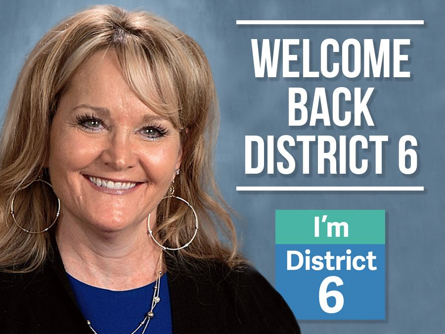 Welcome Back District 6 Headline Graphic