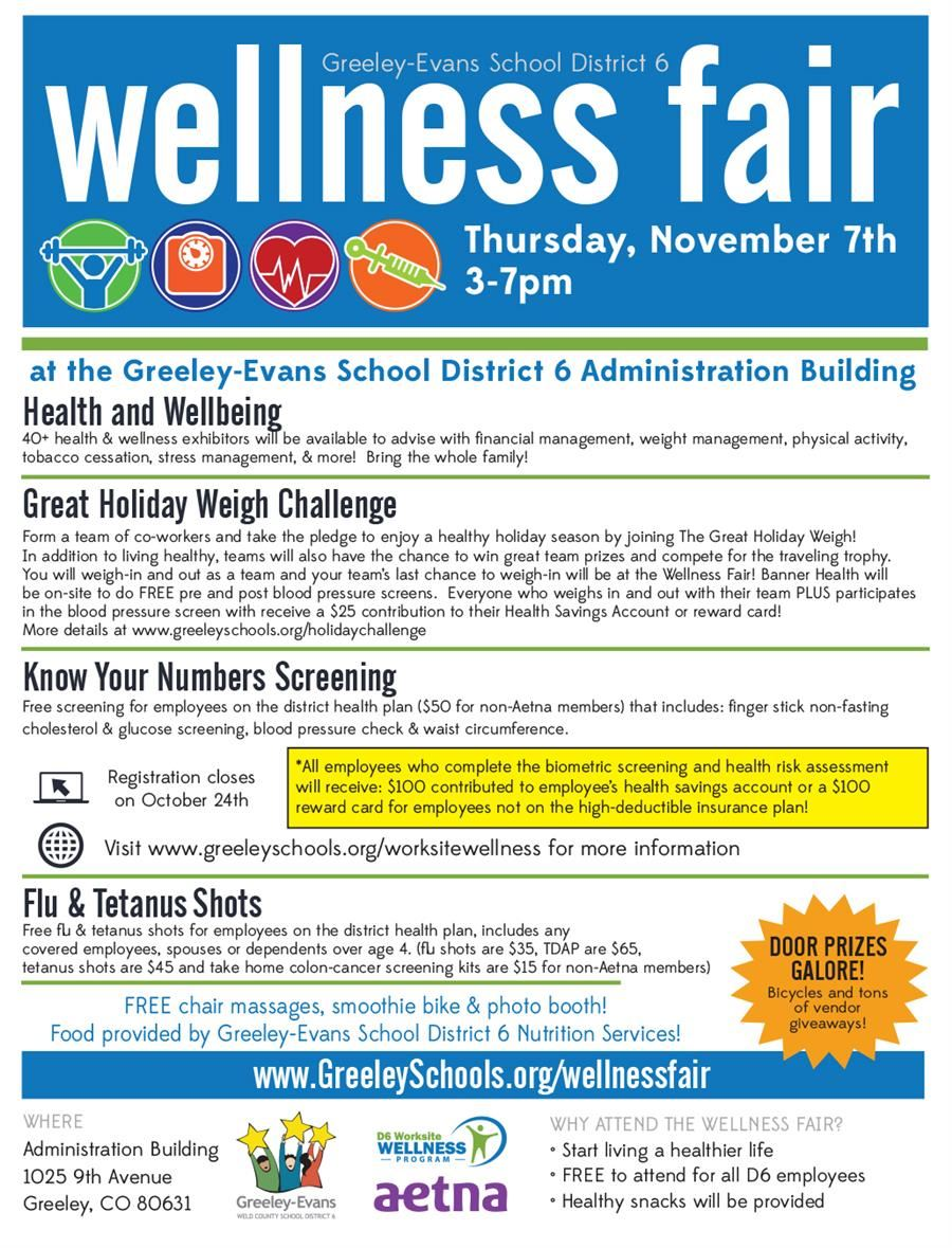 Wellness Fair 2019-2020