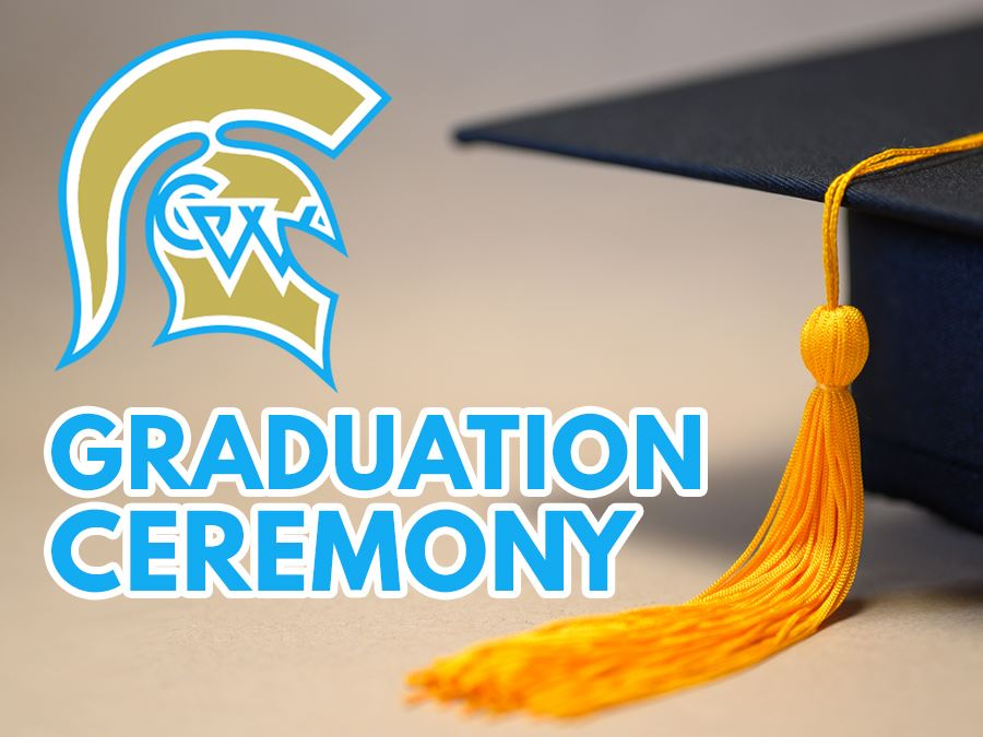 Greeley West High School 2019-2020 Graduation Ceremony Headline Graphic