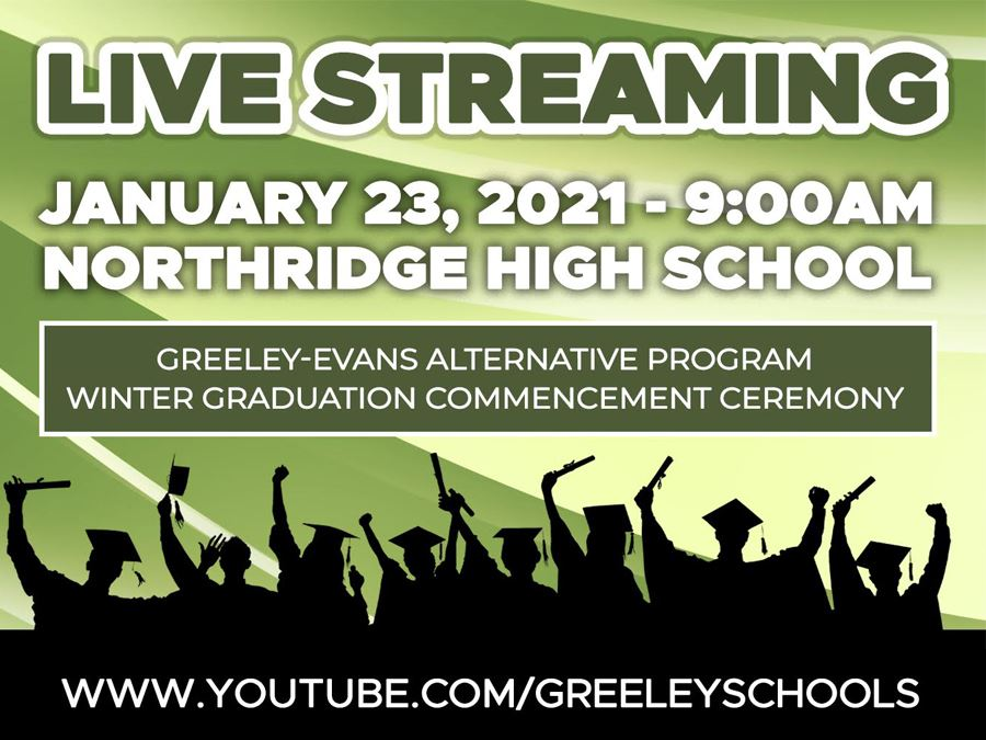 Livestream: Greeley-Evans Alternative Program (GAP) Winter Graduation