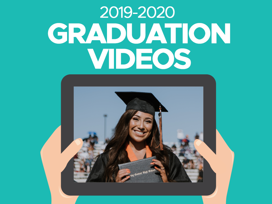Graduation Videos for sale Headline graphic