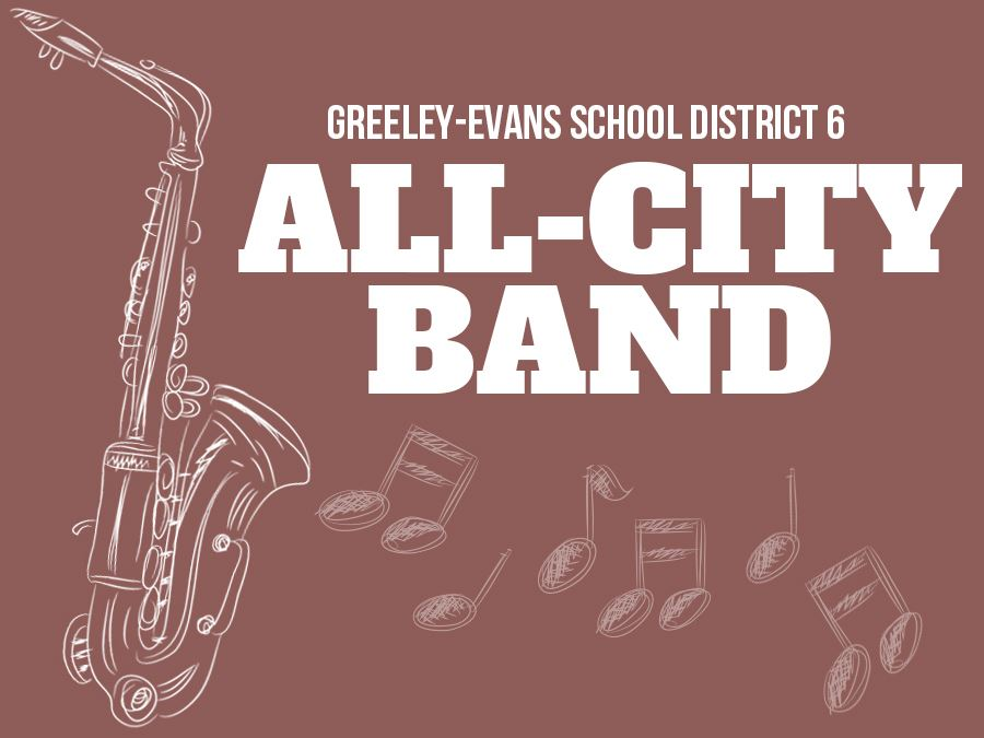 Greeley-Evans School District 6 Music Department presents the All City Band Performance 2020