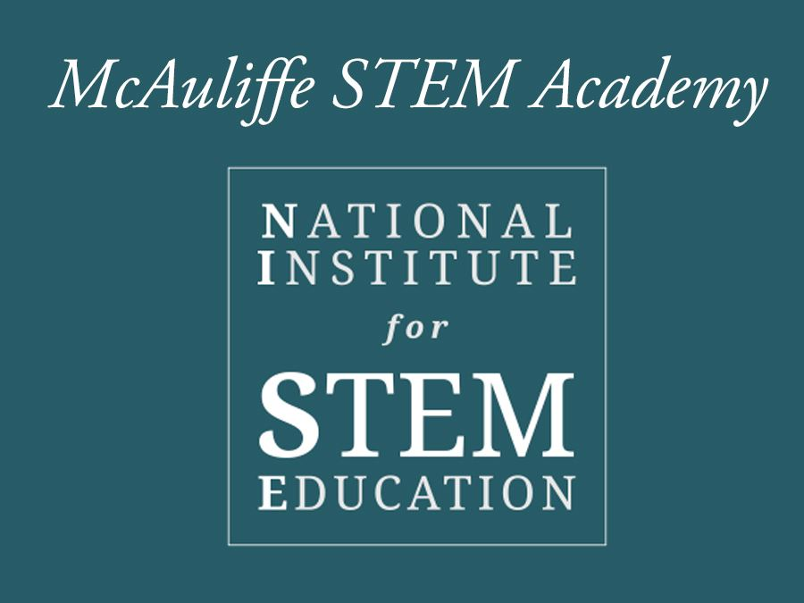 McAuliffe named National STEM Certified School