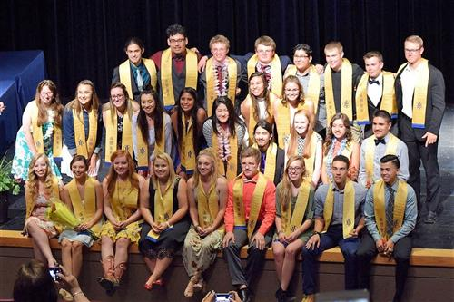 All 2017 Diploma Candidates earned college credit