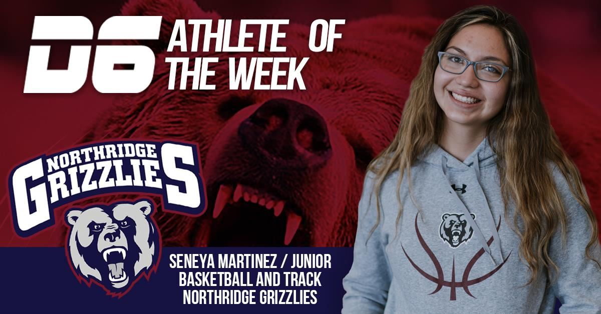 Athlete of the Week Seneya Martinez 2021