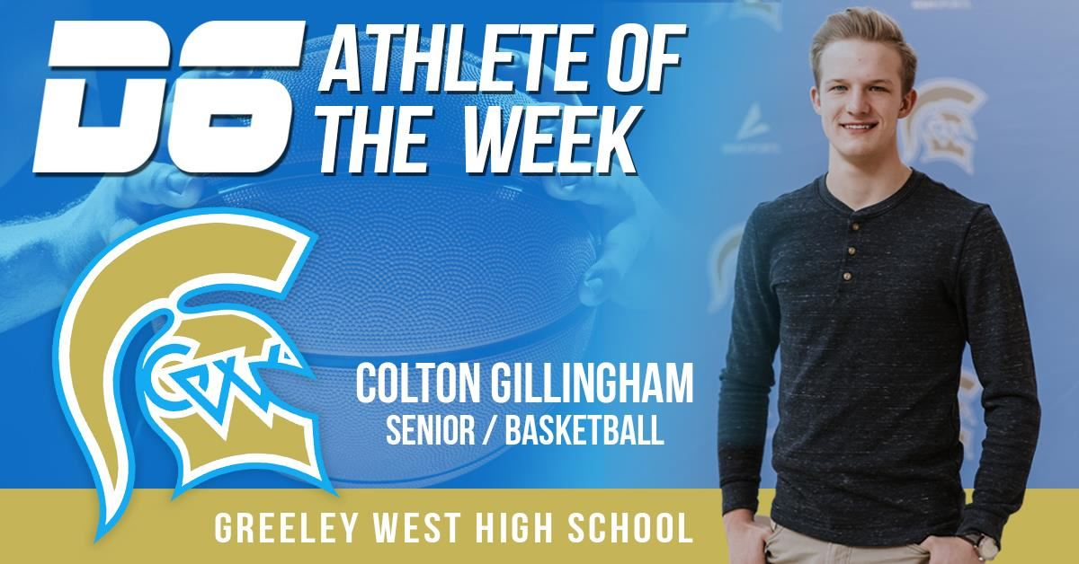 Athlete of the Week Colton Gillingham 2021